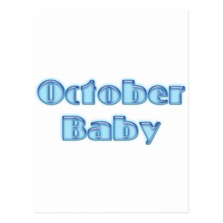 OctBaby Post Card