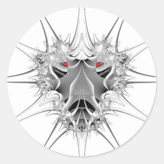 Octeto de Frost Pegatina Redonda