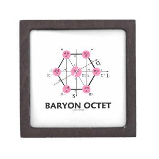Octeto del Baryon (la física de partícula) Caja De Recuerdo De Calidad