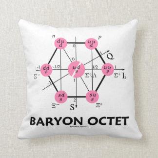 Octeto del Baryon (la física de partícula) Cojin