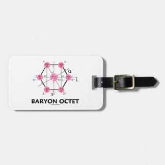 Octeto del Baryon (la física de partícula) Etiquetas Para Maletas