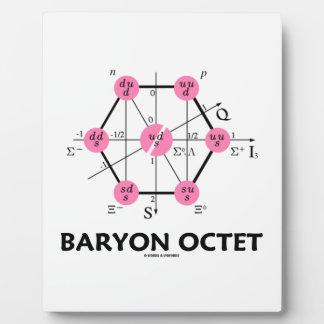 Octeto del Baryon (la física de partícula) Placa De Madera