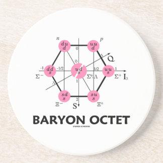 Octeto del Baryon (la física de partícula) Posavasos Manualidades