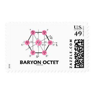 Octeto del Baryon (la física de partícula) Sello