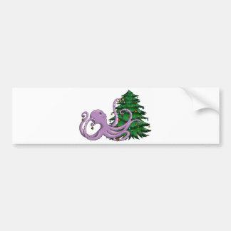 Octi Tree Bumper Sticker
