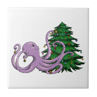Octi Tree Ceramic Tile