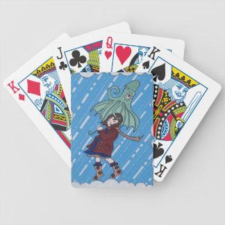 Octibrella! Bicycle Playing Cards