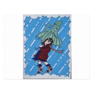 Octibrella! Postcard