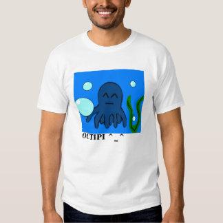 Octipi burbujea camiseta poleras