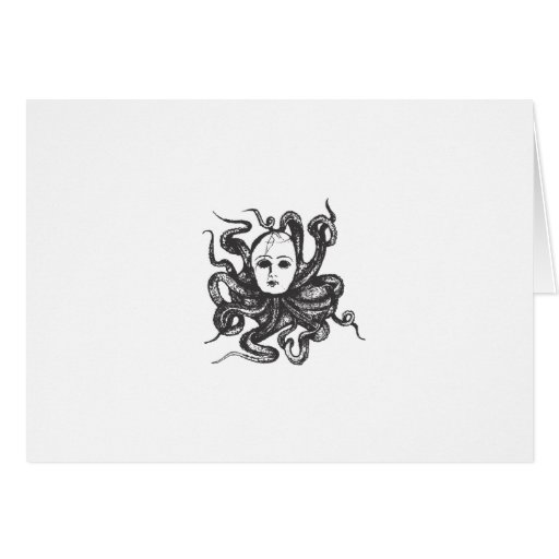Octo Baby Greeting Card