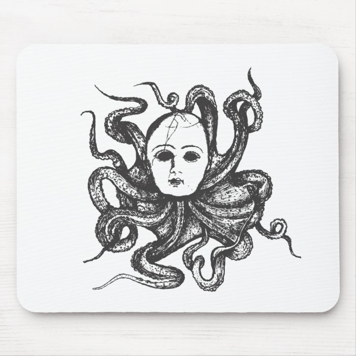 Octo Baby Mouse Pad