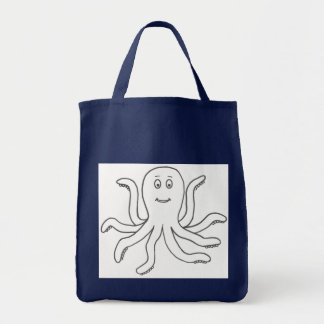 Octo-bag Grocery Tote Bag