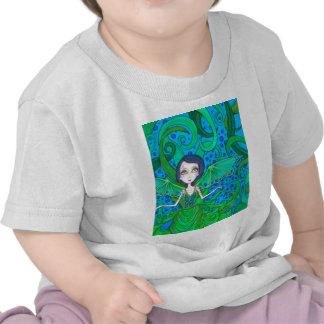 Octo de la sirena camiseta
