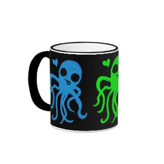 Octo-love Coffee Mugs