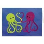 Octo Love Greeting Card
