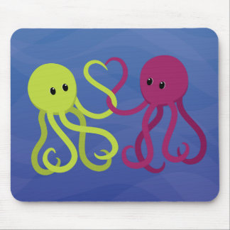 Octo Love Mouse Pad