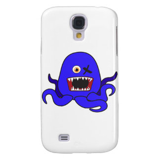 Octo-Monster in blue Galaxy S4 Case