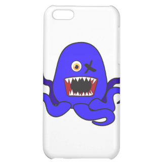 Octo-Monster in blue iPhone 5C Covers