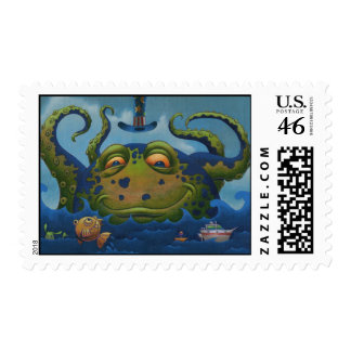 Octo Pete Stamp