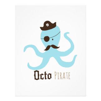 Octo Pirate Letterhead