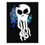 Octo skull blue flyers