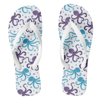 Octo The Octopus and Friends Flip Flops