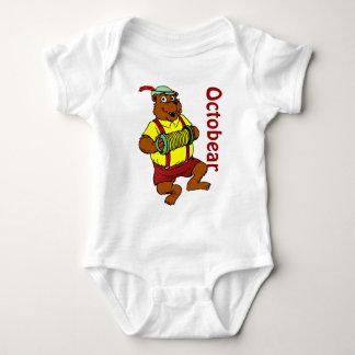 Octobear baby suit baby bodysuit