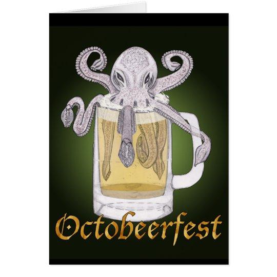 Octobeerfest Card