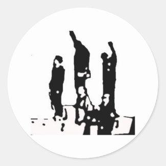 October 16th 1968 Mexico City Classic Round Sticker