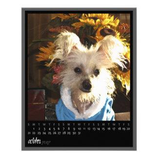 october 2012 calendar flyer