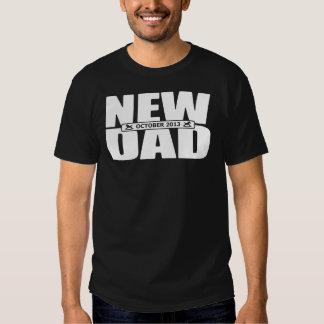 October 2013 New Dad T Shirt