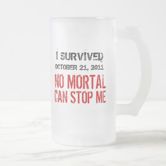 October 21, 2011 No Mortal Can Stop Me Coffee Mug