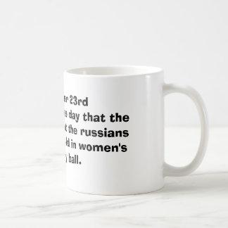 October 23rd mug