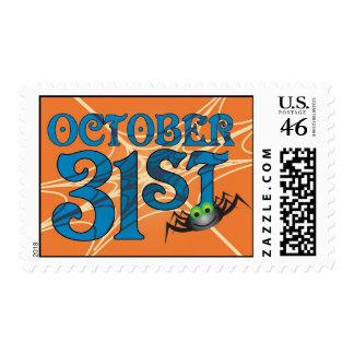 October 31 Postage