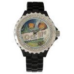 October 31st Jack O Lantern Vintage Halloween Wrist Watches