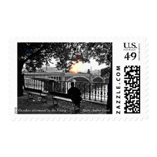 October afternoon by the Vltava Stamps