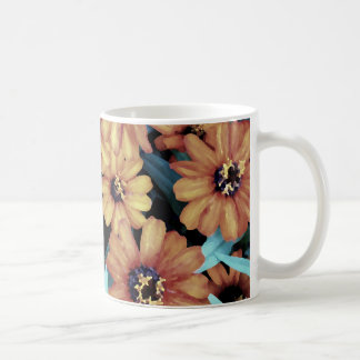 October Autumn Flowers Harvest Thanksgiving Coffee Mug