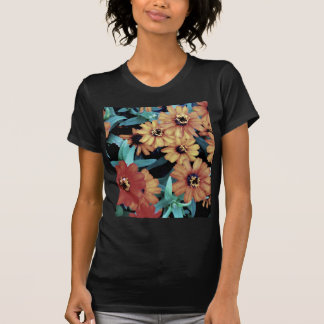 October Autumn Flowers Harvest Thanksgiving T-shirts