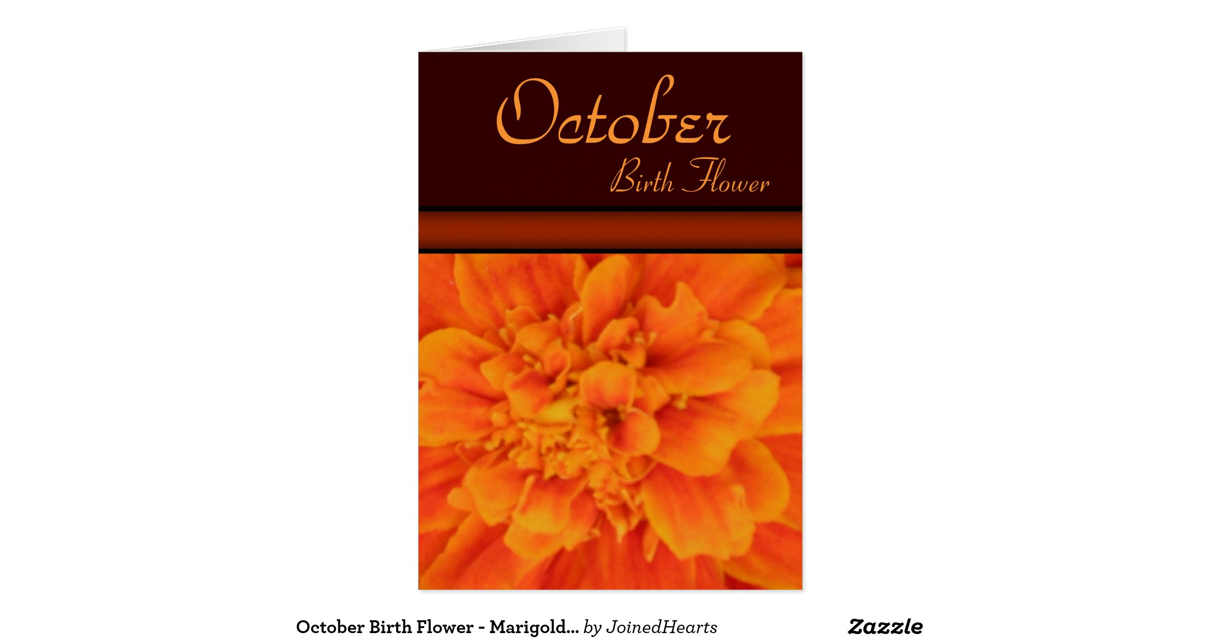 october birth flower marigold note card radb54d299b894a1197f6adedc4a3966e xvu