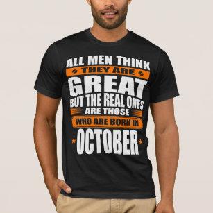 ceb72578 October Birthday T-Shirts - T-Shirt Design & Printing | Zazzle