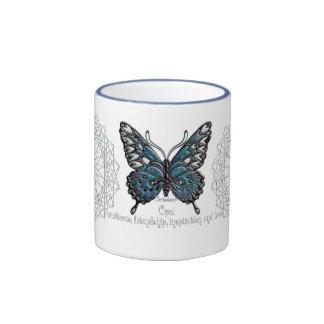 October Birthstone Butterfly Mug