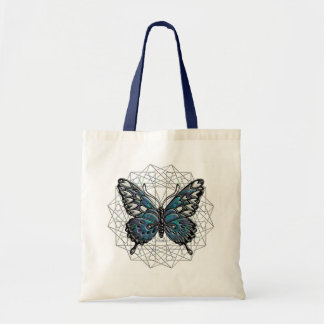 October Birthstone Butterfly Tote Bag