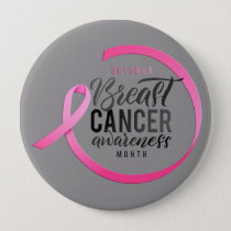 October Breast Cancer Awareness Month Pin