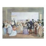 October Celebration in Rome, 1842 Postcards