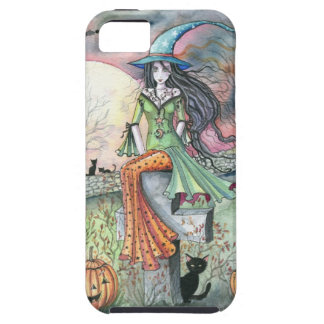 October Chill Witch by Molly Harrison iPhone SE/5/5s Case