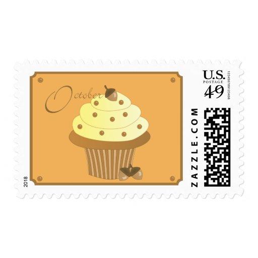 October Cupcake Stamp