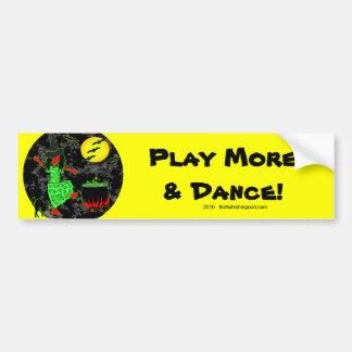 October Dance - Halloween Bumper Sticker