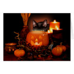 October Eve Greeting Card