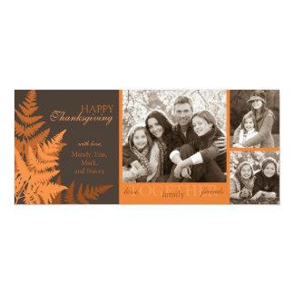 October Fern Invitation Tall Card