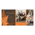 October Fern Photo Card